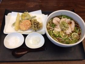 sobaみのり@昭島市拝島駅〜モダンな店舗で創作蕎麦