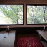 月与の童屋@青梅〜多摩川遠望・崖線上の蕎麦屋