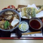 そば処『清川』@東大和〜季節限定牡蠣そば