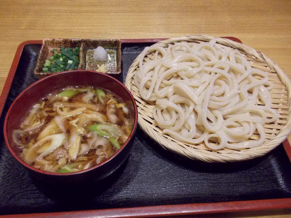 手打そば『喜郷』@福生駅西口〜鴨が名物、一九蕎麦