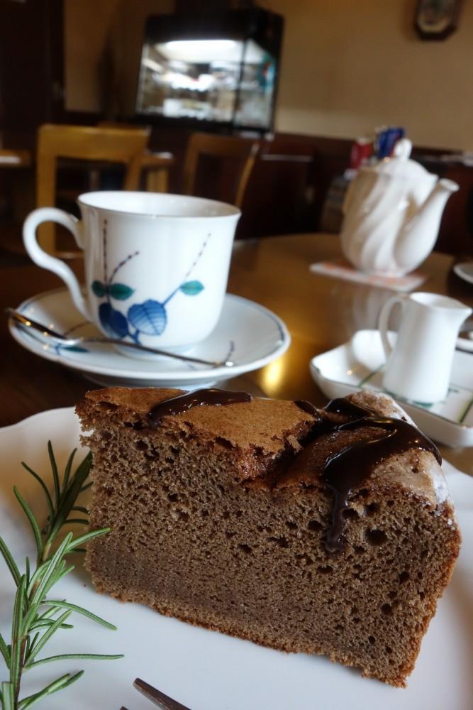 カフェ ワーズワース@東久留米〜食後のケーキセット