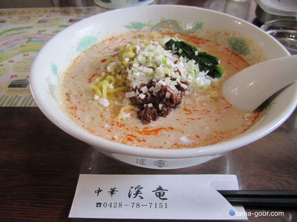中華『渓竜』@青梅市御岳〜麺類いろいろ
