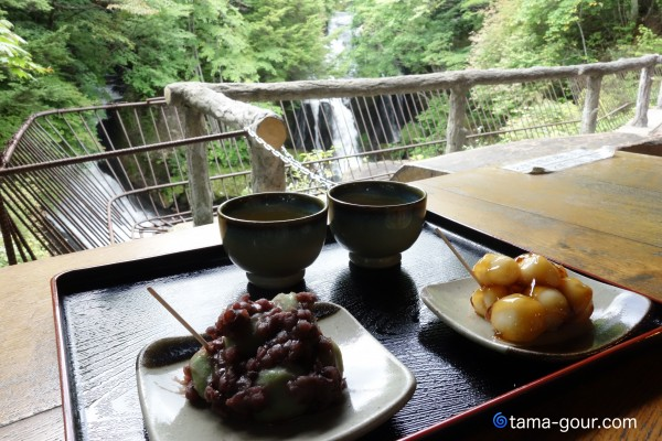 竜頭之茶屋@日光・竜頭の滝〜滝見で団子