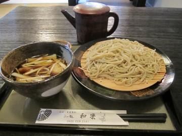 そば処 和楽@青梅市新町〜真面目な店主が打つ端正な蕎麦