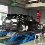 アライメント調整&MICHELINタイヤ空気圧変更〜スバルWRX-STI整備