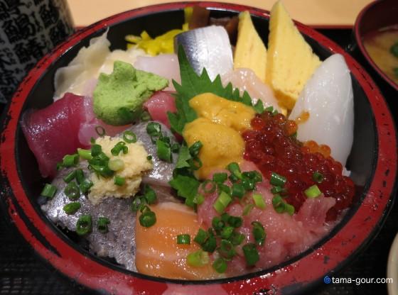 回転寿司『大江戸』@Psar三芳(上り)〜大江戸海鮮スペシャル丼