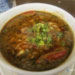 麺と飯【笑顔】(にこ)@西武線久米川駅前〜香ばしくて酸っぱ辛い担々麺