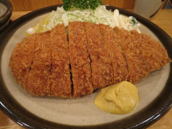 とんかつ『かつ一』@西武線久米川駅前〜銀かつ定食