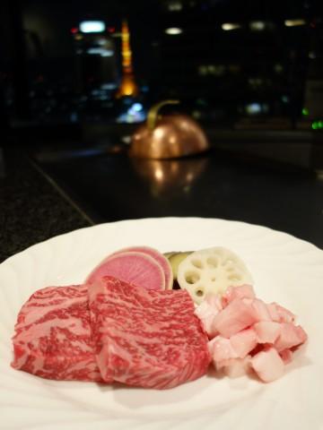 鉄板焼き【都】@ホテル アジュール竹芝〜東京タワーを眺めながら