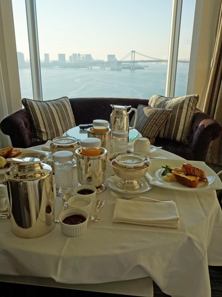 ホテル インターコンチネンタル東京ベイ@港区竹芝ふ頭〜レインボーブリッジ一望のベイサイドホテル