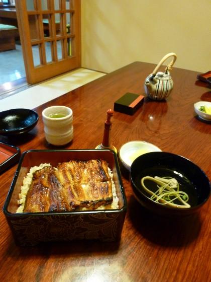 うなぎ・会席料理『川松』@東久留米市前沢〜会席料理店で鰻と鯉