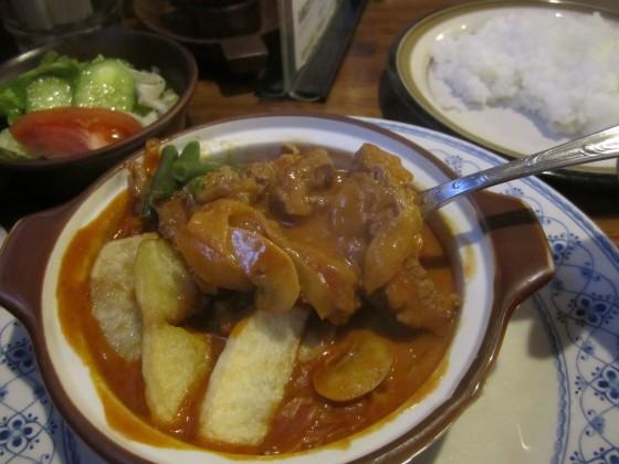 レストラン『K&K』@青梅市河辺町〜願掛けのお礼参りはビーフストロガノフ