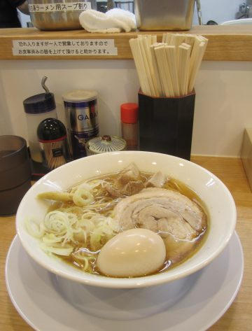 麺屋 瑞風@田無駅北口〜今度は煮干醤油ラーメン