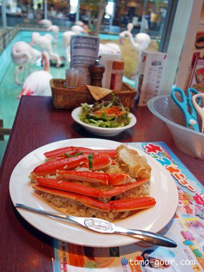 シーフードレストラン『メヒコ』@茨城県つくば市〜フラミンゴ!?を見ながら伝統のカニピラフ