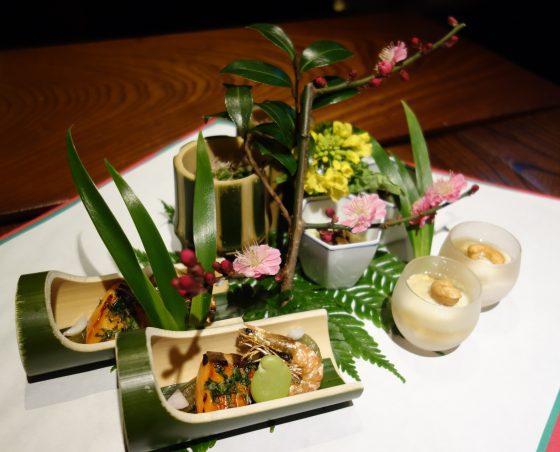 燈々庵@あきる野市〜旧家の邸宅で旬の懐石料理