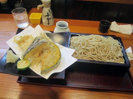 蕎夢 三晃庵@西東京市 東伏見駅北口〜駅近で季節の蕎麦