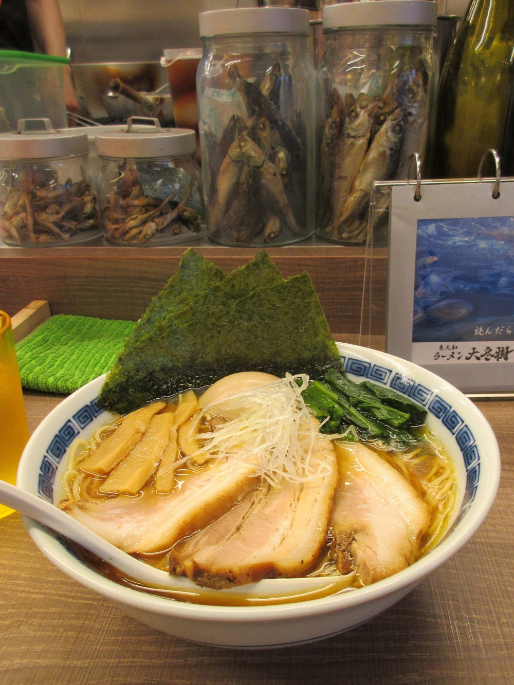 ラーメン大冬樹@東大和市〜コンセプトは海! 衝撃の鯛白湯