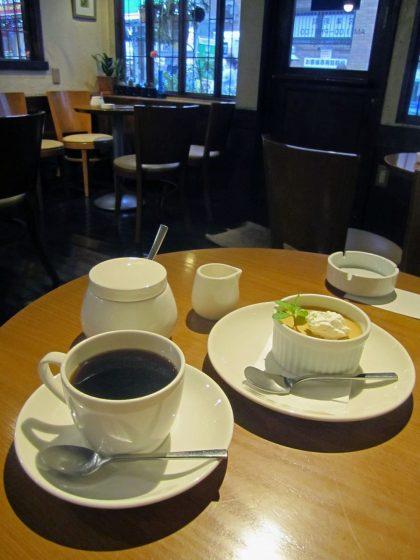 実川珈琲@西武新宿線 武蔵関駅北口〜蕎麦屋帰りに珈琲&スイーツ