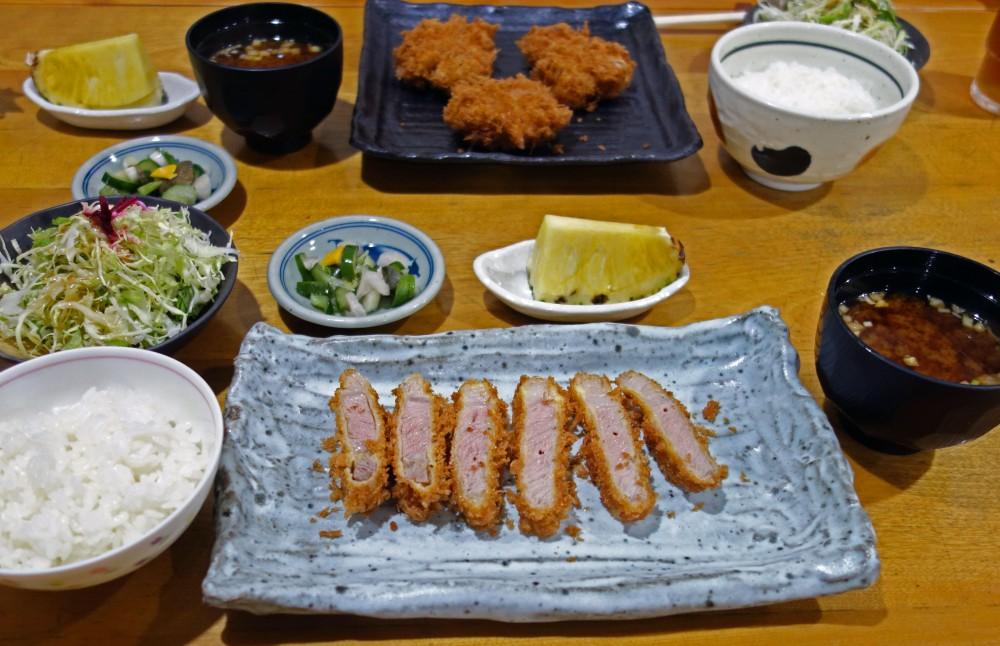 キッチン美味小屋@甲府市湯村温泉〜注文の多いとんかつ店の絶品銘柄豚