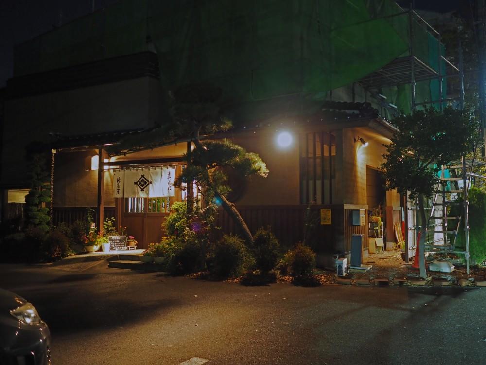 椿茶屋(再訪)@所沢市〜多摩湖の夕焼けと手打ち蕎麦