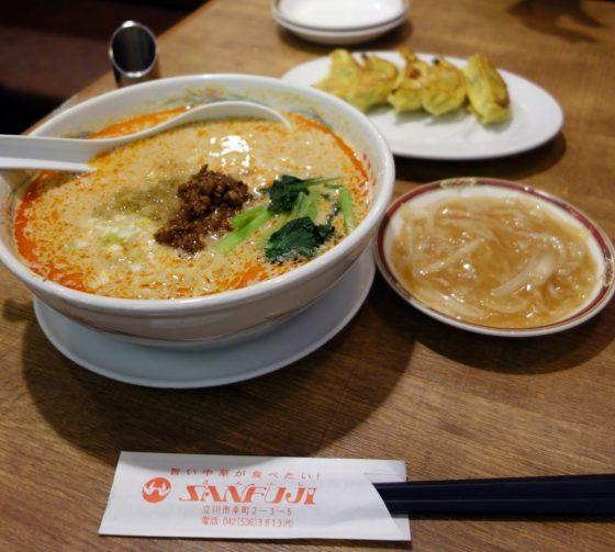 中華料理サンフジ@立川市幸町〜ヘルシー中華をファミレス感覚で