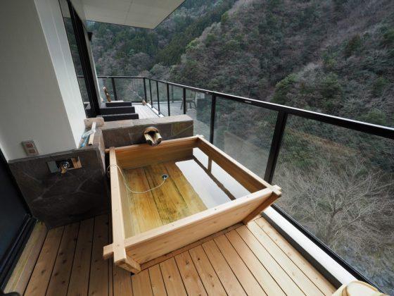 祖谷の隠れ宿『 祖谷美人』離れスイート宿泊記〜渓流を見下ろす全室温泉露天風呂付きの宿