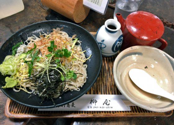 手打蕎麦「柳屋」@ひばりヶ丘駅南口〜しらすおろし蕎麦と「蕎麦たなか」の閉店