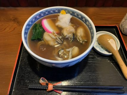 「蕎藤」@府中〜今年の初牡蠣蕎麦
