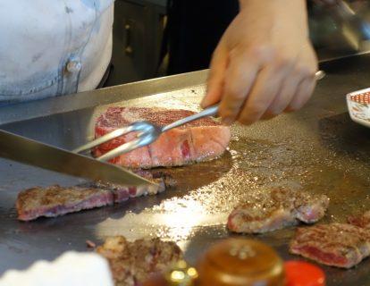 鉄板焼『藤川』@山梨県 下部温泉駅〜温泉町のお値打ち鉄板レストラン