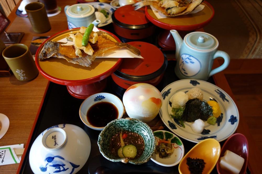 懐石おもい川@松江〜宍道湖眺めて七珍料理