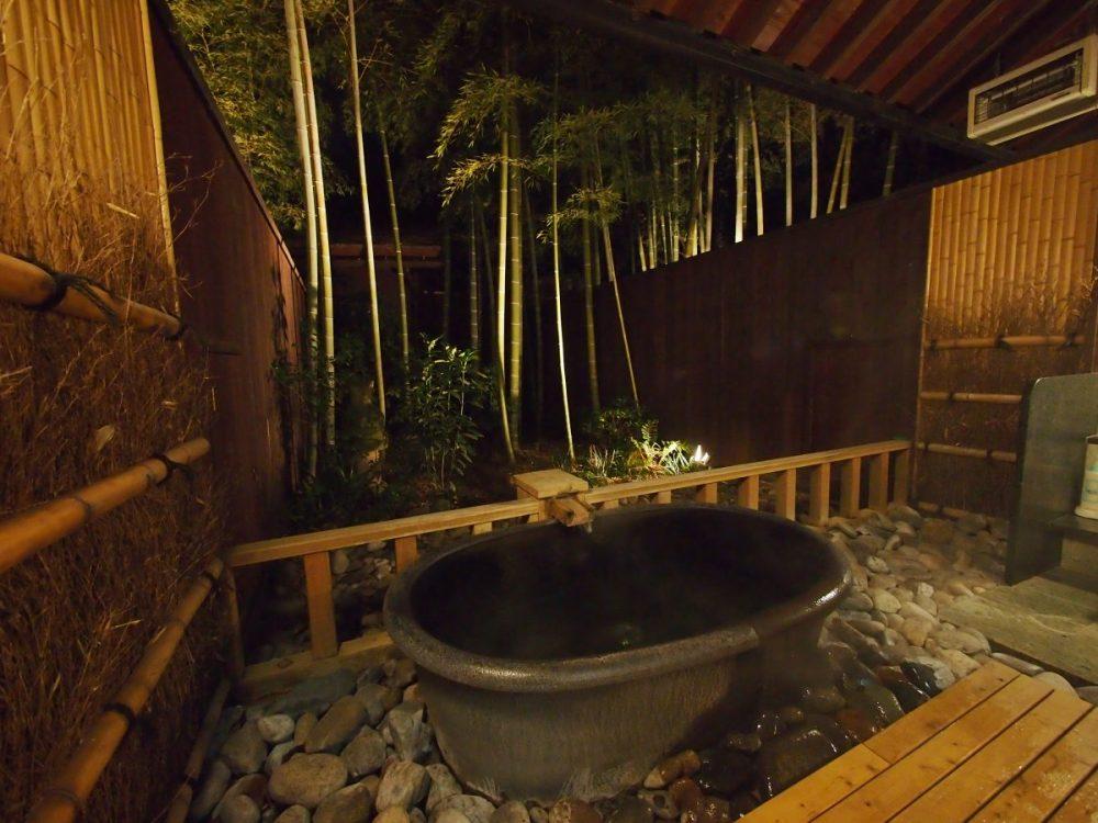 深谷花園温泉『花湯の森』@深谷〜貸切風呂「若竹」