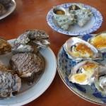 かき料理 秋山商店@宮崎県高鍋町〜宮崎県の天然牡蠣料理