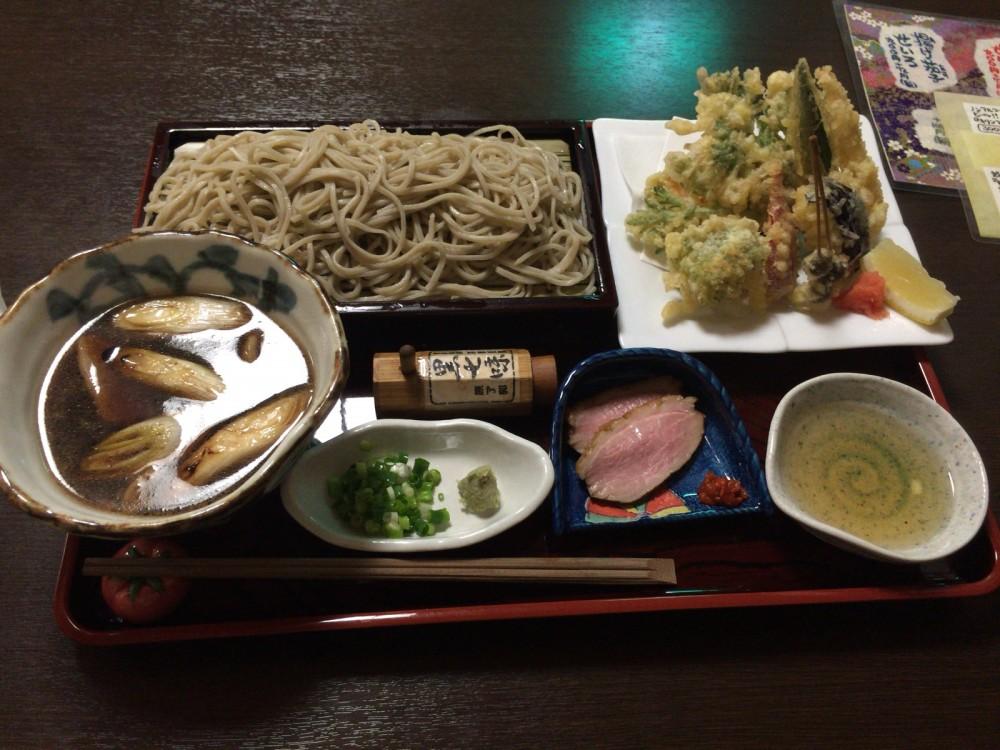 石臼挽手打蕎麦『蕎心庵』@西武新宿線久米川駅〜合鴨丼セット