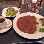 カフェレスト グリム館小川店@小平市小川西町〜西武線小川駅前の洋食喫茶