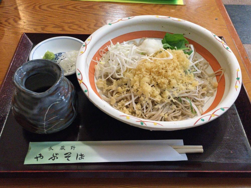 武蔵野やぶそば@西武柳沢駅南口〜汁が辛くてコシのある藪蕎麦の正統派