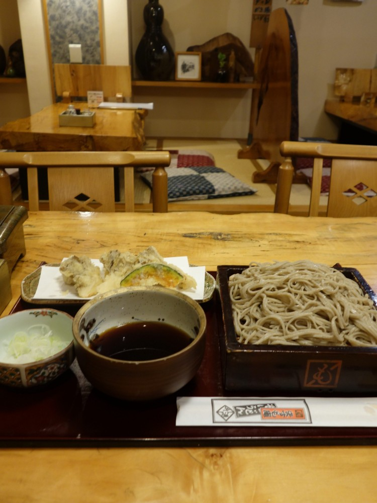 ますも庵@東村山駅東口〜メニュー豊富な街の十割蕎麦店