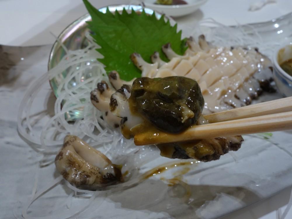 海鮮 一鰭(いちひれ)@新潟県村上市〜夏は岩牡蠣!、鮑も美味い!!