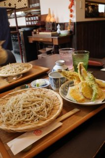 石臼自家製粉 手打ちそば『櫓』@羽村市〜料理も充実・端正な手打ち蕎麦