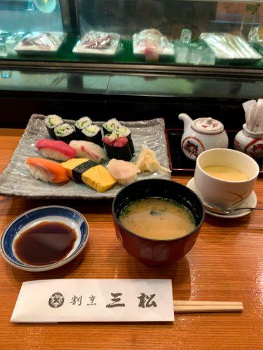 割烹『三松 本店』@府中駅南口〜昭和レトロな寿司割烹